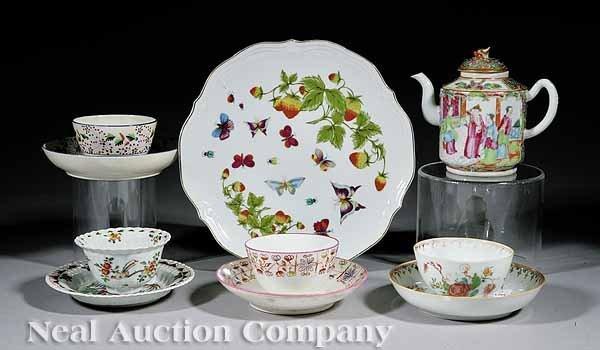 10: English and Asian Porcelain Tea Ware