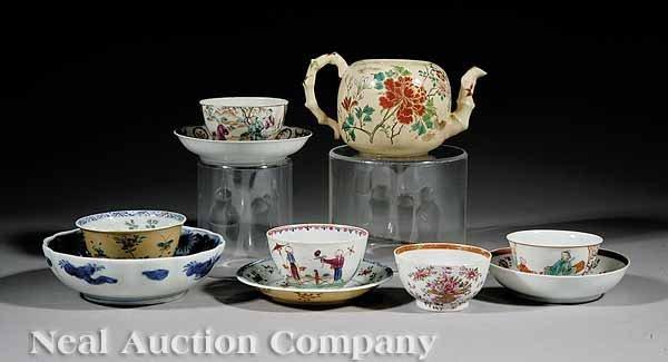 11: Asian Porcelain Tea Ware