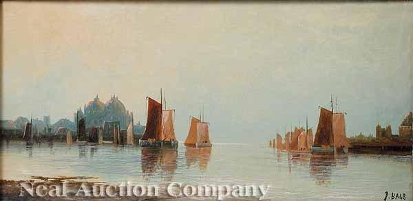 21: Edwin Bale, oil on canvas
