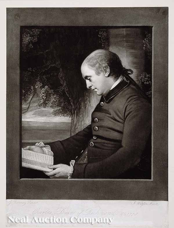 22: George Romney, engraved by James Watson
