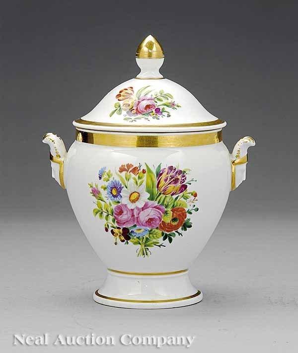 52: Paris Porcelain Lidded Sucrier