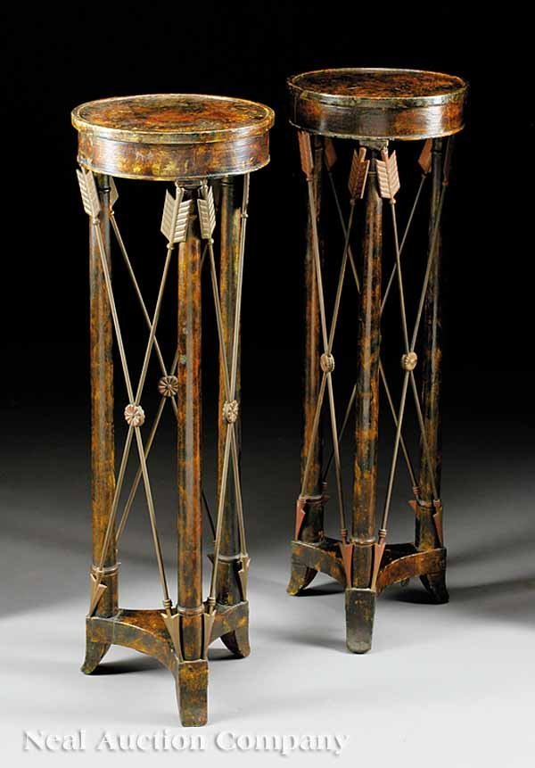 60: Pair of Neoclassical-Style Pedestals