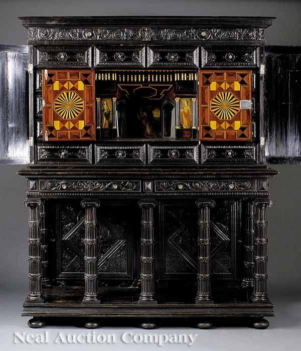 62: Louis XIV Library Cabinet