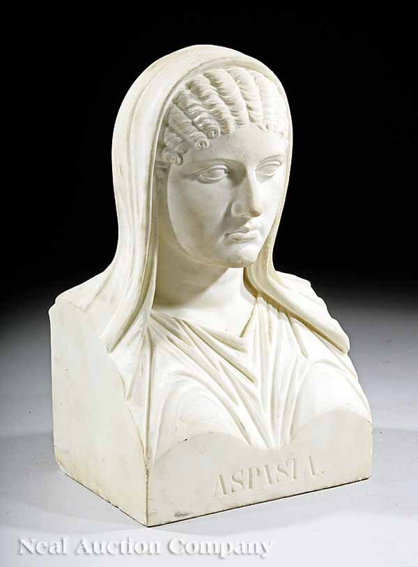 """64: Bust of """"Aspasia, the Mistress pf Pericles"""""""