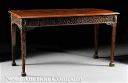 430 GeorgianStyle Mahogany Console Table