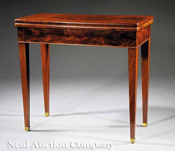 770: Louis Philippe Mahogany Games Table
