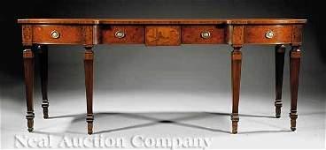 873 Edwardian Inlaid Mahogany Sideboard
