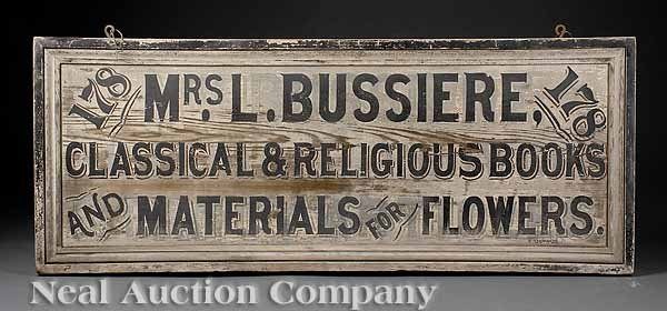895: French Quarter Shop Sign
