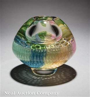 Gary Beecham & Mary Lynn White Blown Glass