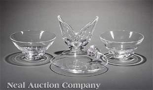 Steuben Glass Freeform Bowl