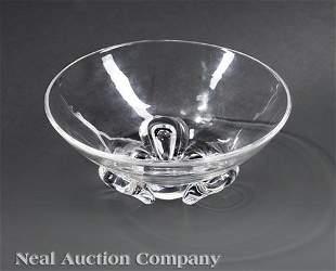 Steuben Glass Coronet Bowl Pollard
