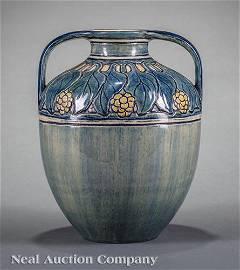 Newcomb College Art Pottery High Glaze Vase