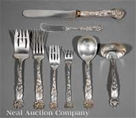 American Sterling Silver Flatware Service, Alvin