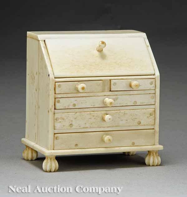 0006: Dutch Colonial Miniature Slant-Front Desk