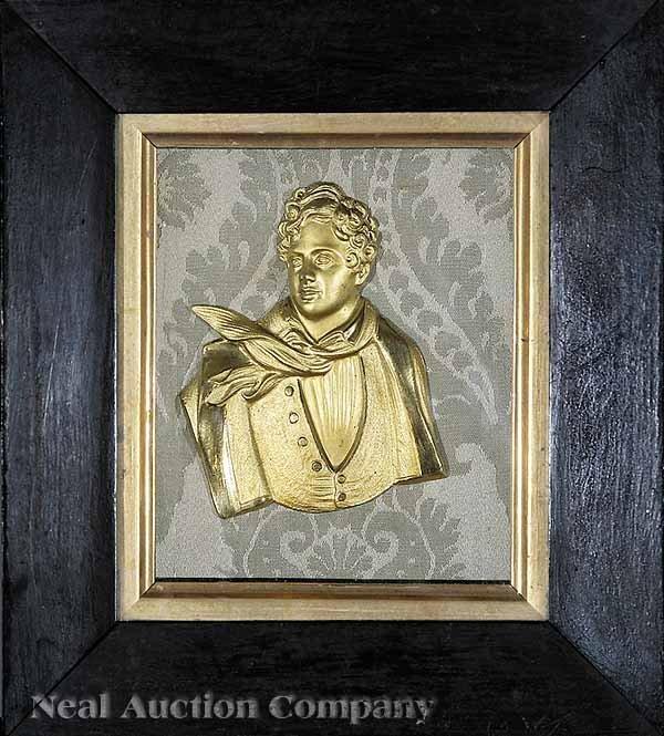 0017: Portrait Relief of George Gordon, Lord Byron