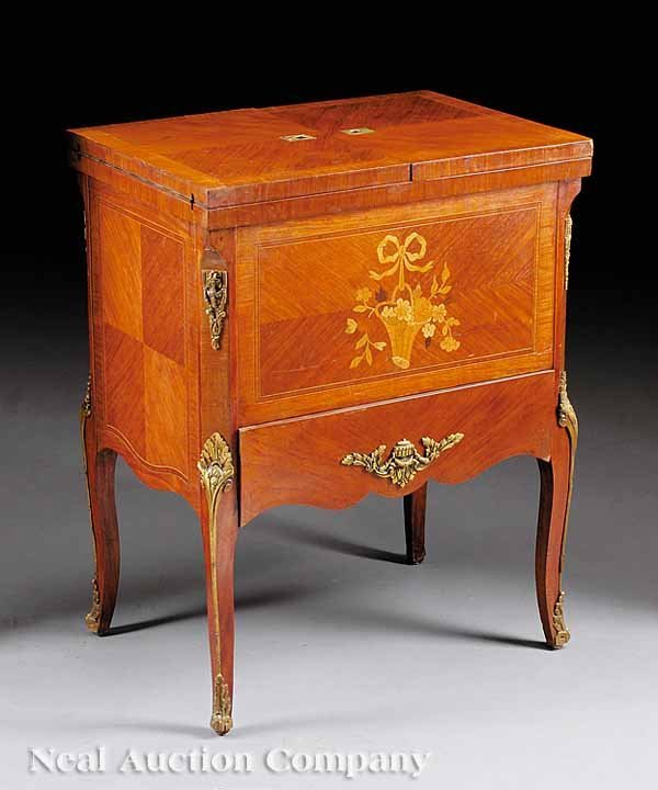 0731: Inlaid Marquetry and Parquetry Work Table