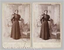 1150: Four New Orleans Vintage Albumen Photographs