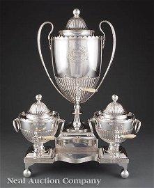 George III Sheffield Plate Tea Machine