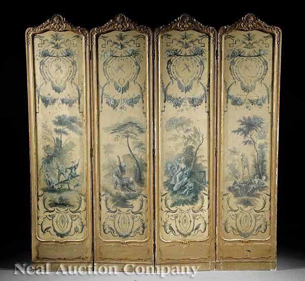 1: Grisaille and Giltwood Screen