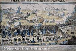 509 French HandColored Lithograph