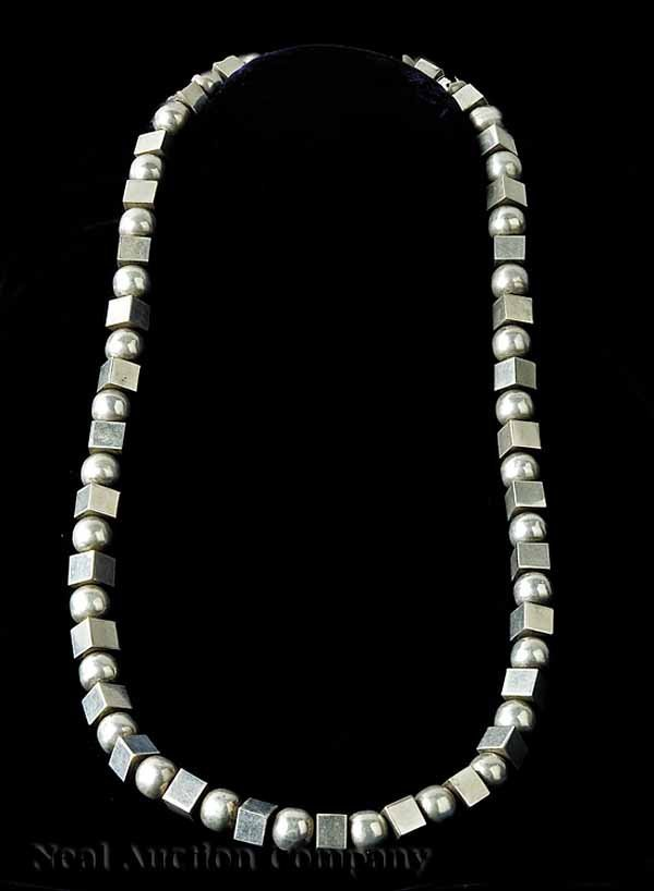 634: Mexican Sterling Silver Necklace