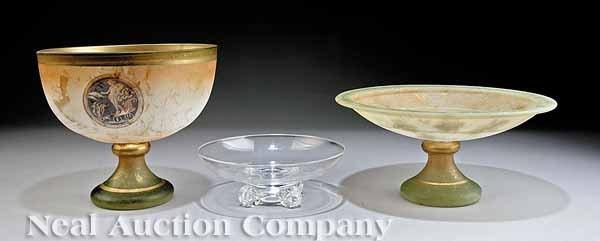 635: Steuben Clear Crystal Bowl