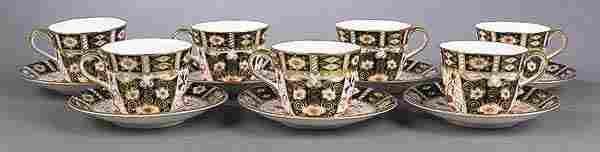 0271: Royal Crown Derby Porcelain Teaset