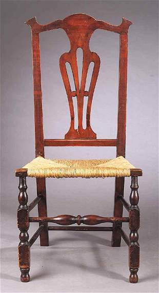 American Queen Anne Maple Sidechair