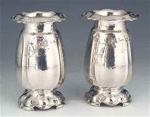 Pair of Gorham Martele' .950 Silver