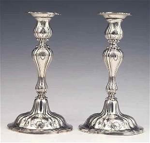 Pair of American Sterling Silver Tab