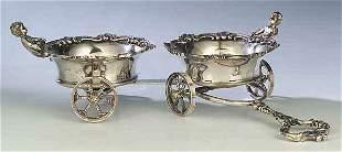 Decorative Silverplate Figural Wine