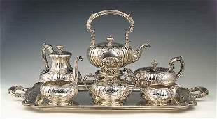 American Sterling Silver Tea and Co