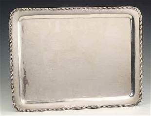 Mexican Sterling Silver Serving Tray