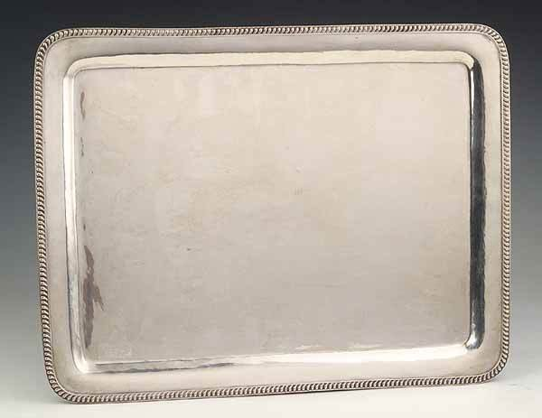 0919: Mexican Sterling Silver Serving Tray