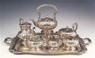 English Silverplate Two-Handled Sup