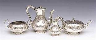 Victorian Sterling Silver Coffee and