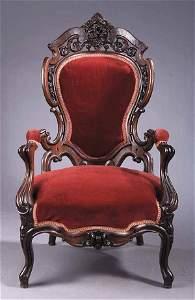 1184: American Rococo Laminated and Carve