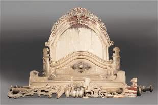 American Rococo Half Tester Bed