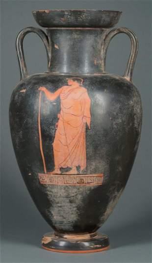 Apulian-Type Red Figure Amphora