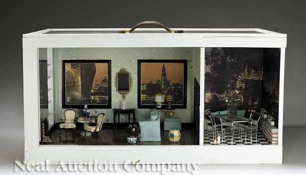 1: Diorama of a Manhattan Apartment