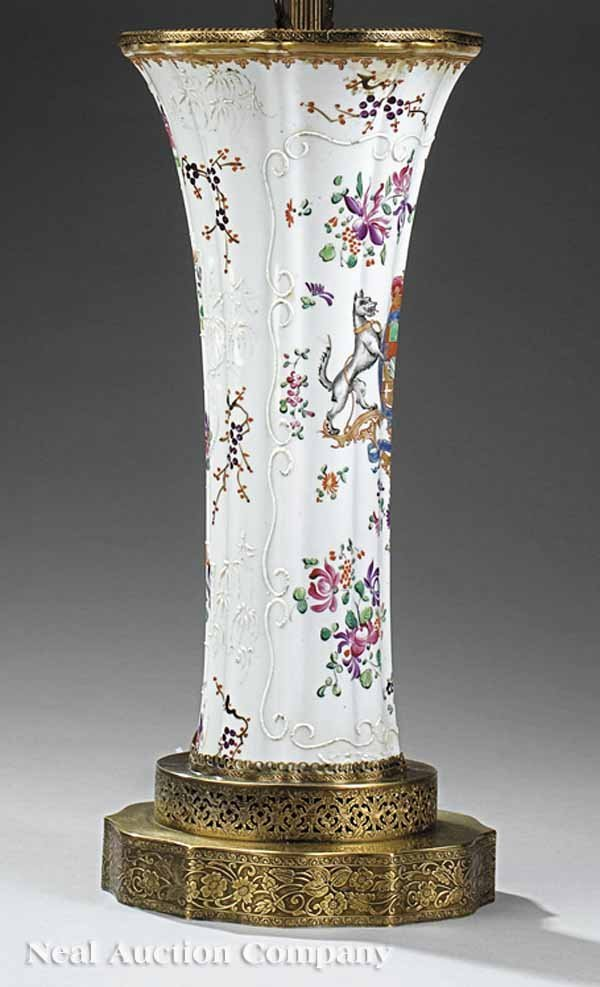 18: Polychrome, Gilt and Moriage-Decorated Vase