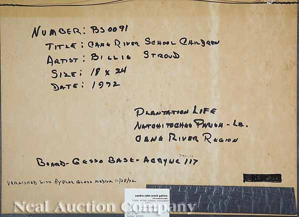 697: Billie Stroud (American/Louisiana, b. 1919) - 2