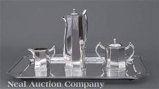 K. Uyeda Sterling Silver Coffee Service