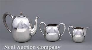 K. Uyeda Sterling Silver Tea Service