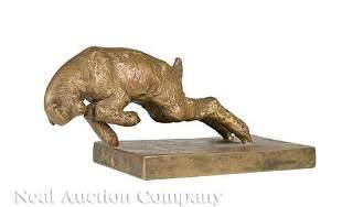 Bronze Figure of a Lamb after Silvestre