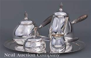 Georg Jensen Sterling Coffee and Tea Service