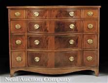 0921 Inlaid Mahogany Commodes Baker Furniture
