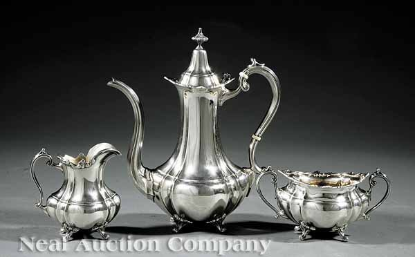 0780: Reed and Barton Sterling Silver Coffee Service