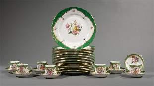 Herend Porcelain Partial Dinner Service