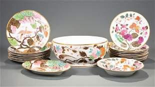 English Porcelain Partial Dinner Service